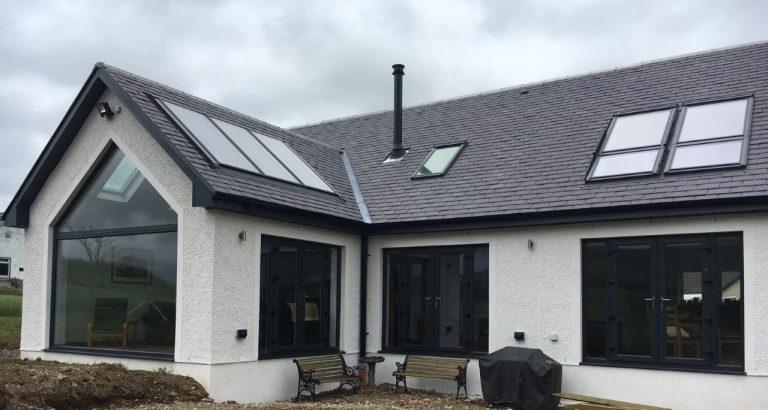 Aluminium Home Windows - Mark Smith Glazing Edinburgh