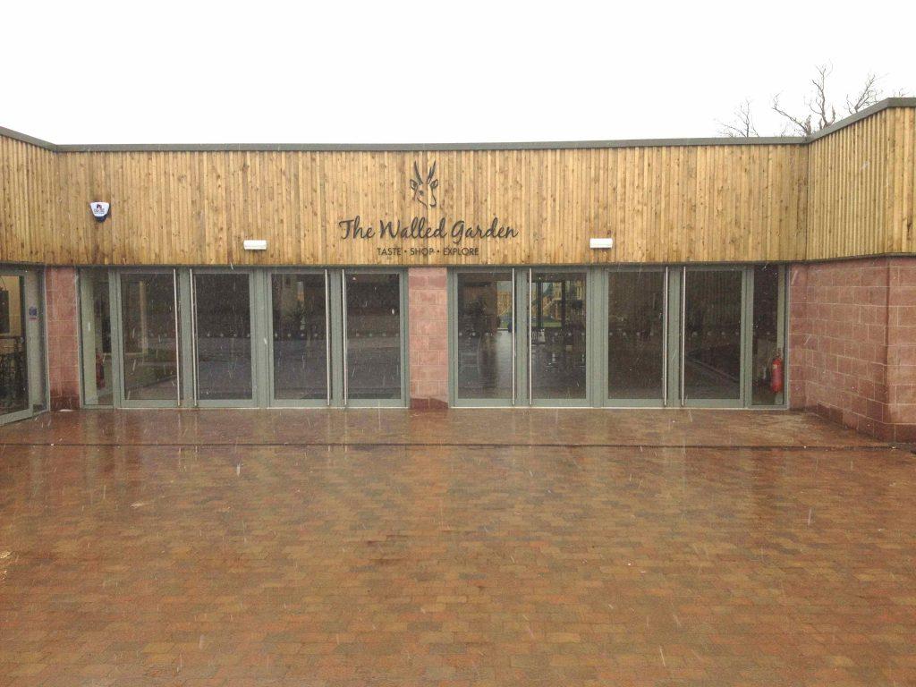 Archerfield Walled Garden Restaurant - Mark Smith Glazing Edinburgh