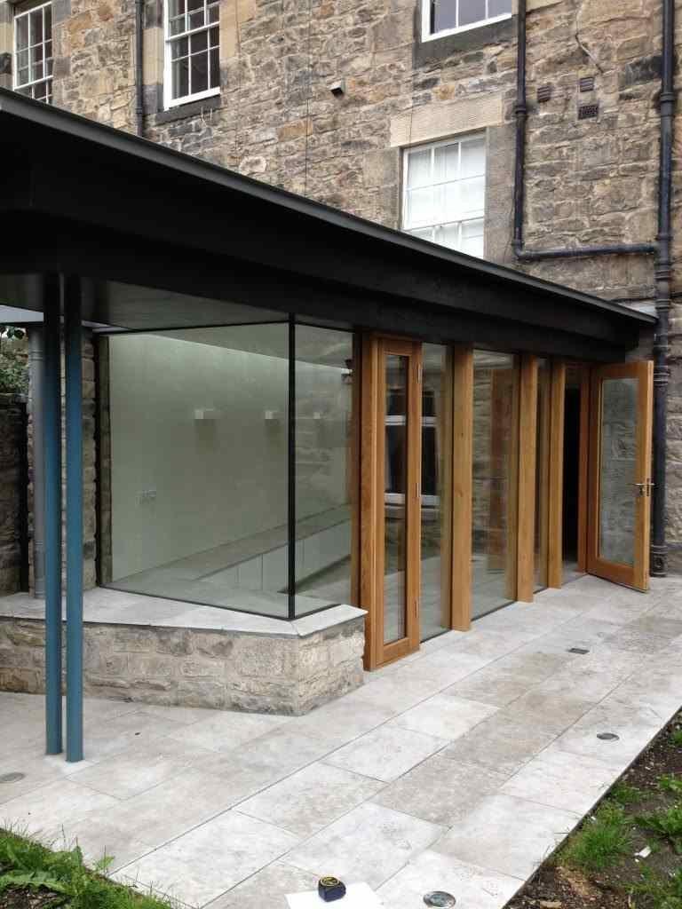 Glass Extension doors - Mark Smith Glazing Edinburgh