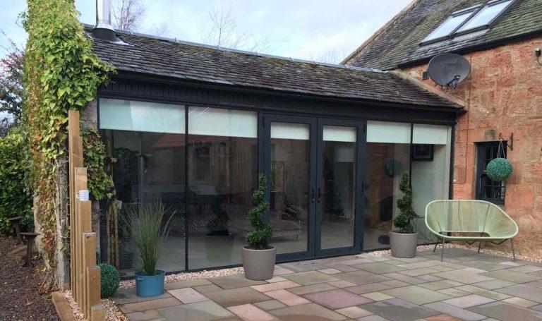 glazed french doors - Mark Smith Glazing Edinburgh